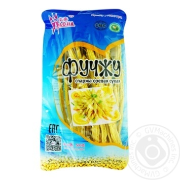 Спаржа Фучжи соевая сухая 500г - купить, цены на Ашан - фото 1