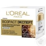 L'Oreal Day cream for the face Age Wrinkle Expert 65+ 50ml - buy, prices for Auchan - photo 1
