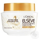 L'Oreal Paris Elseve Extra-Fine Coconut Oil For Normal And Dry Hair Mask 300ml