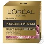 Крем для лица L'oreal Paris Роскошь питание дневной 50мл