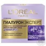 Крем L'Oreal Paris Денний крем для обличчя гіалуронова кислота