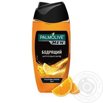 Palmolive Men Shower gel Citrus charge 250ml - buy, prices for Furshet - image 3