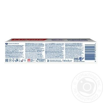 Colgate Toothpaste Safe bleaching Caring for gums 75ml - buy, prices for Furshet - image 6