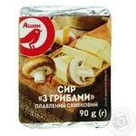 Сыр плавленый Ашан с грибами 90г