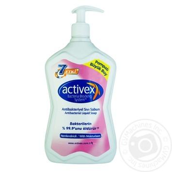 Жидкое мыло Activex Увлажняющее антибактериальное 700мл
