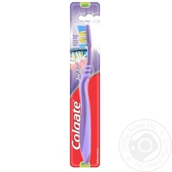 Зубна щітка Colgate Зиг Заг Плюс середньої жорсткості в асортименті - купити, ціни на Ашан - фото 5