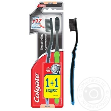 Colgate Toothbrush silk thread with charcoal 1+1 - buy, prices for Novus - image 5