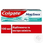 Зубная паста Colgate Макс Блеск отбеливающая 100мл - купить, цены на МегаМаркет - фото 8