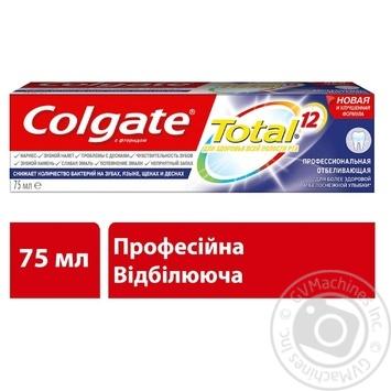 Colgate Professional Whitening Toothpaste 75ml - buy, prices for Furshet - image 6