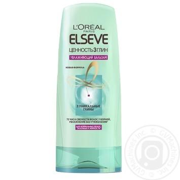 Бальзам L'Oreal Elseve Ценность 3 глин для нормальных, склонных к жирности волос 200мл