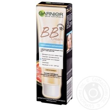 Крем Garnier ВВ для смешанной и жирной кожи светло-бежевый 40мл - купить, цены на Ашан - фото 1
