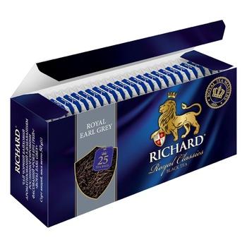 Richard Earl grey black tea 25pcs*2g - buy, prices for Tavria V - photo 6