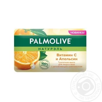 Мыло для лица и тела Palmolive Натурэль Витамин С и Апельсин туалетное 150г - купить, цены на ЕКО Маркет - фото 3