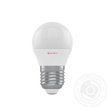 Лампа Electrum светодиодная сфера D45 5W PA LB-31 Е27 4000 A-LB-1936 - купить, цены на Ашан - фото 1