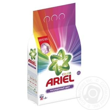 Ariel Color Automat Laundry Powder Detergent 3kg - buy, prices for Novus - image 2