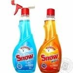 Snow Spray for Washing Glass Bright Sky 500ml + Citrus Freshness 500ml - buy, prices for Auchan - photo 1