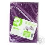 Auchan Light Beige Microfiber Bedding Set 150x210cm