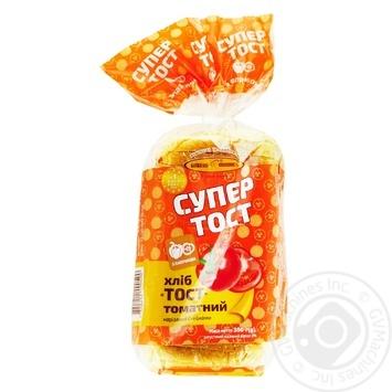 Kyivkhlib Sliced tomato toast bread 350g - buy, prices for CityMarket - photo 1
