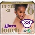 Подгузники Libero Touch 6 13-20кг 38 шт