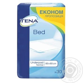 Пеленки влагопоглощающие Tena Bed Normal 60x60 30шт