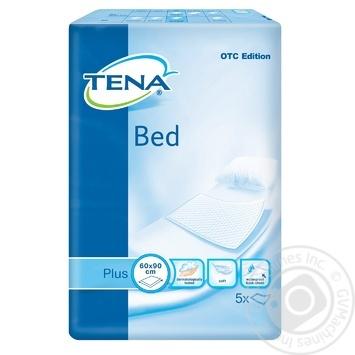 Пеленки Tena Bed Plus сечопоглинальні 60х90 5шт - купить, цены на Novus - фото 2