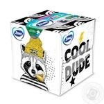 Салфетки косметические Zewa Kids Zoo Cube детские 3-х слойные 60шт - купить, цены на Novus - фото 1