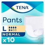 Підгузки для дорослих Tena Pants Normal Large 10шт