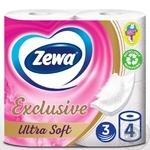Zewa Exclusive Ultra Soft Toilet Paper 4pcs