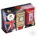 Ahmad London Memories Black Tea Set Can 150g