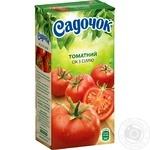 Сік Садочок томатний з сіллю 0,5л