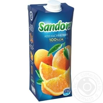 Сок Sandora апельсиновый 500мл - купить, цены на Novus - фото 1