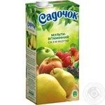 Sadochok Multivitamin Juice 0.95l - buy, prices for Novus - image 1
