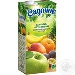 Sadochok Multifruit Nectar 0.95l - buy, prices for Novus - image 1