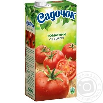 Sadochok tomato juice with salt 0,95l - buy, prices for Furshet - image 5
