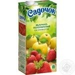 Sadochok apple-strawberry juice 0,95l - buy, prices for Furshet - image 6