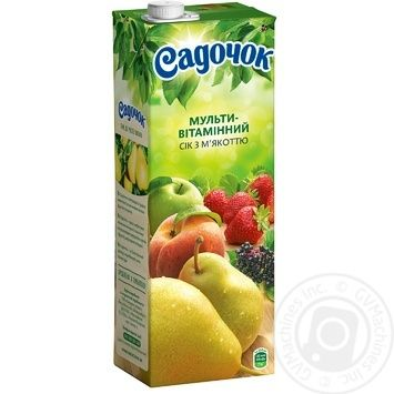 Sadochok multivitamin juice 1,45l - buy, prices for Novus - image 1