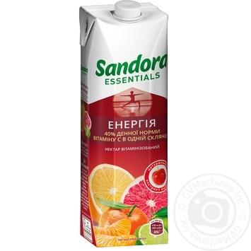 Нектар Sandora Essentials Энергия цитрусовый микс с екстрактом ацеролы 950мл - купить, цены на МегаМаркет - фото 1