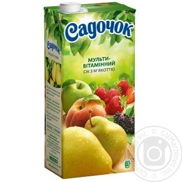 Sadochok multivitamin juice 1,93l - buy, prices for Novus - image 1