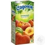 Сік Садочок персиковий 1,93л - купити, ціни на Метро - фото 1