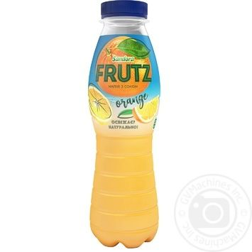 Напій соковий Sandora Frutz Апельсин 400мл - купити, ціни на МегаМаркет - фото 1