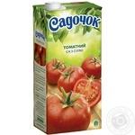 Сік Садочок томатний з сіллю 1,93л - купити, ціни на Метро - фото 1