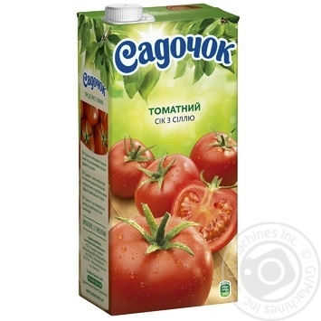 Sadochok Tomato juice with salt 1,93l