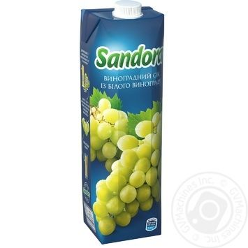 Сок Sandora Виноград 950мл - купить, цены на МегаМаркет - фото 1