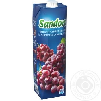 Нектар Sandora червоного винограду 950мл - купити, ціни на МегаМаркет - фото 1