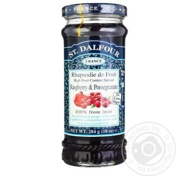 St.Dalfour Raspberry-Pomegranate Jam 284g - buy, prices for MegaMarket - image 1