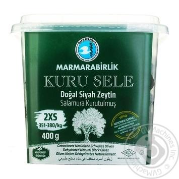 Оливки черные Marmarabirlik вяленые 400г - купить, цены на Novus - фото 1