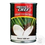 Вершки кокосові Oriental chef 22% 400г