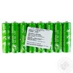 Батарейки соляные Auchan LR6 АА 8шт