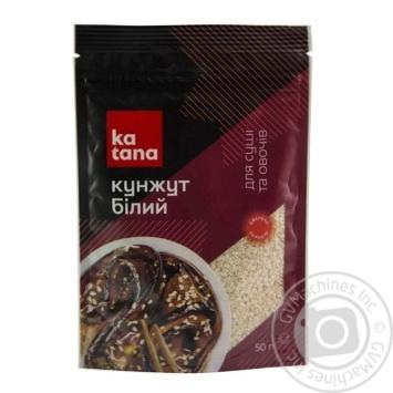 Кунжут Katana белый 50г - купить, цены на МегаМаркет - фото 1