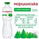 Вода Моршинская слабогазированная 0,5л - купить, цены на Метро - фото 2